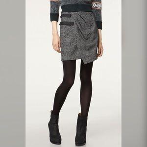 rag & bone Ledbury Plaid Wrap Skirt